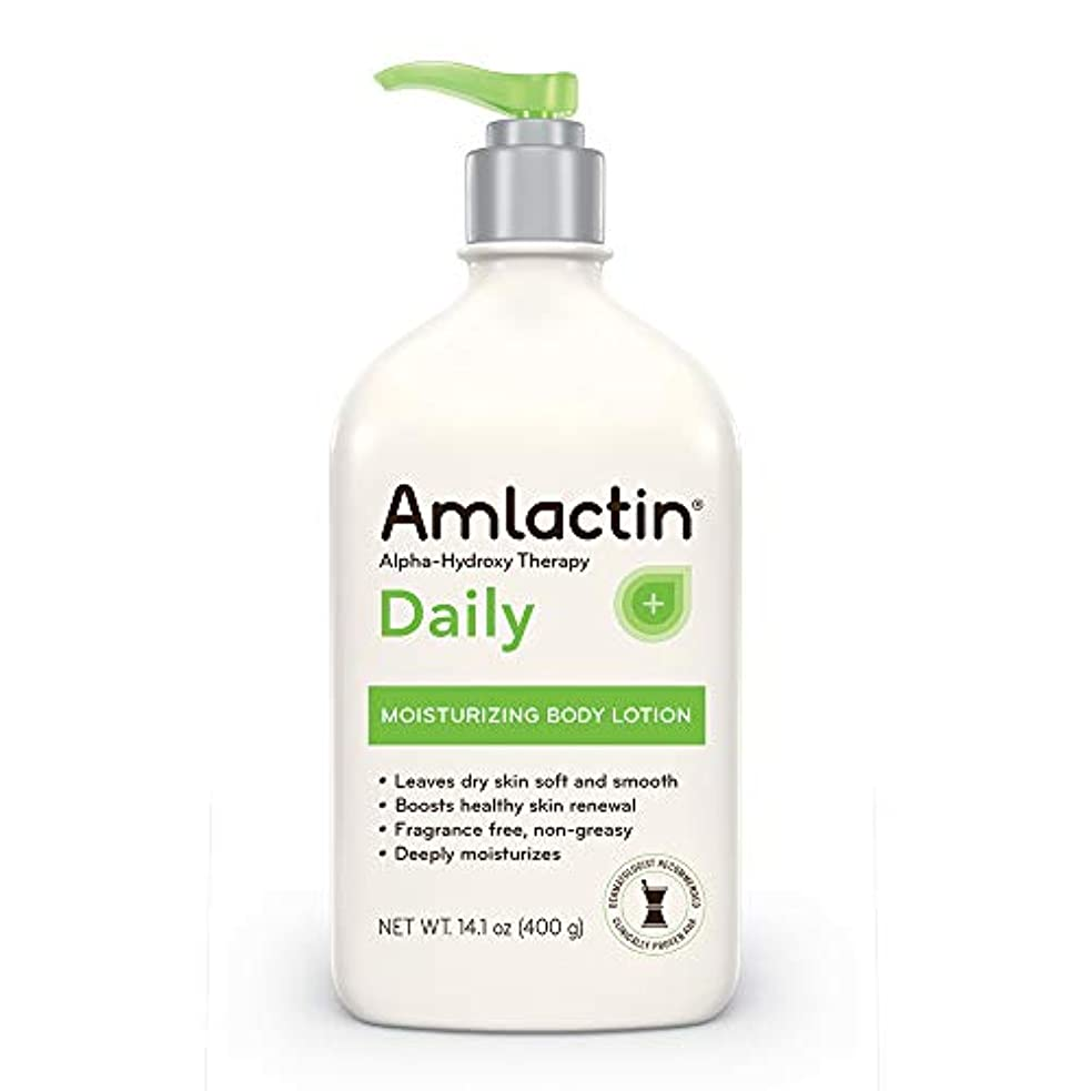 官僚まっすぐレースAmLactin 12% Moisturizing Lotion - 14 oz (400 gm)