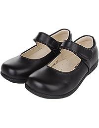 FireflyShop 履きやすい 女の子 キッズ フォーマルシューズ マット 子供 靴 入園式 卒業式 卒園式 結婚式 入学式