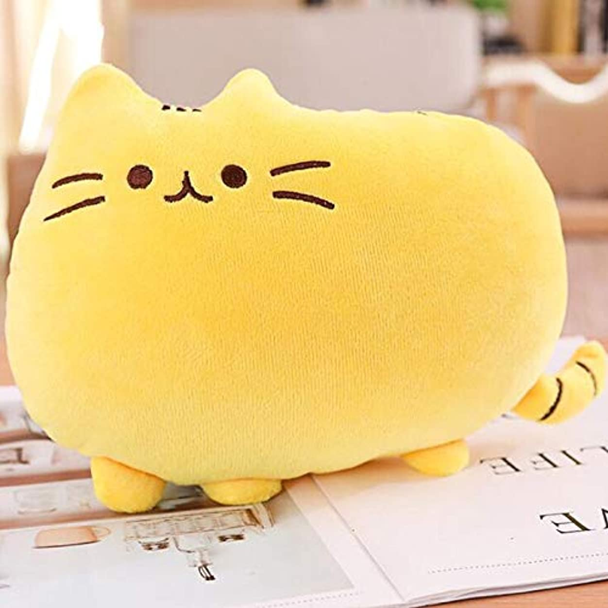 尊敬効果判読できないLIFE8 色かわいい脂肪猫ベビーぬいぐるみ 20/40 センチメートル枕人形子供のための高品質ソフトクッション綿 Brinquedos 子供のためのギフトクッション 椅子