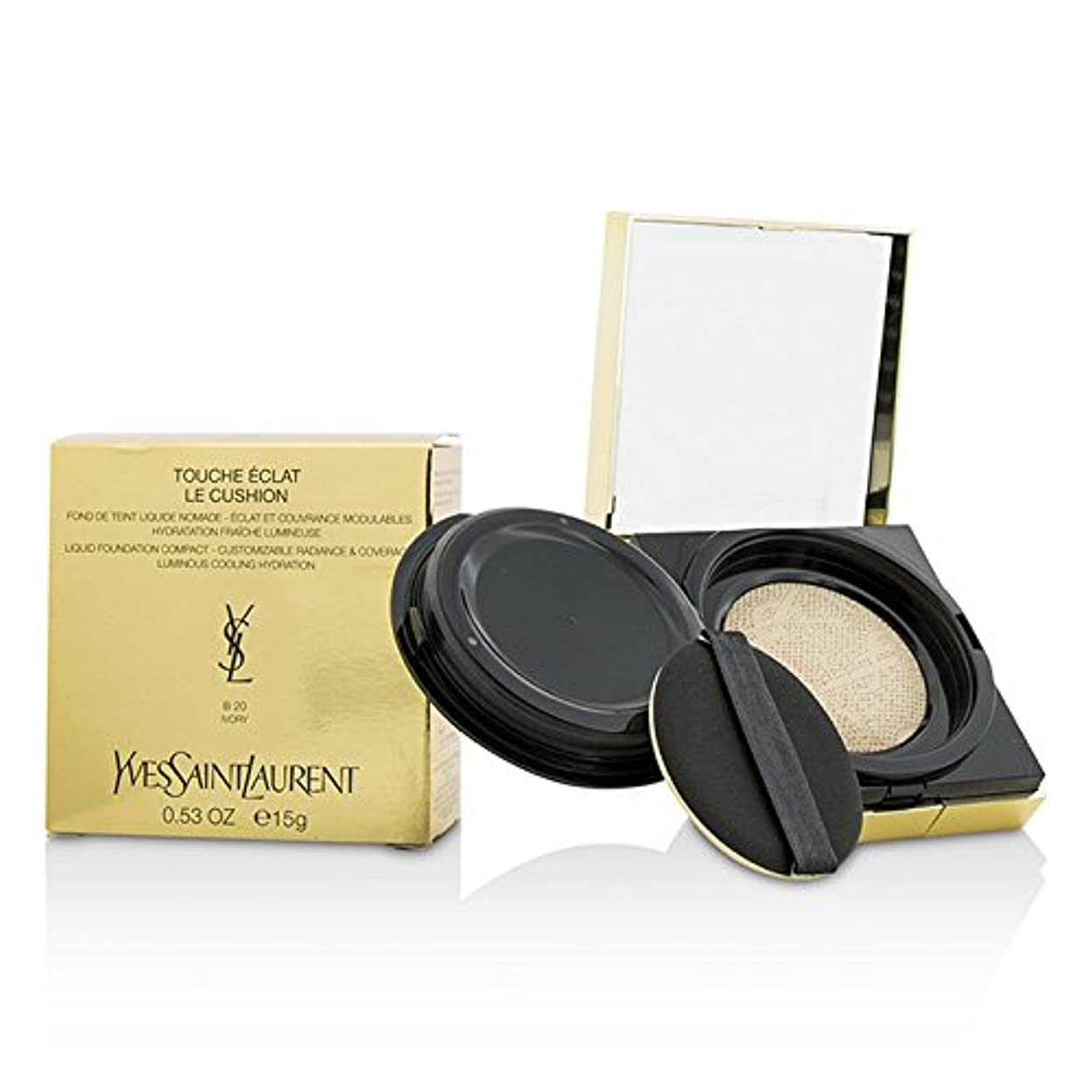 愛人ステッチ殺すイヴサンローラン Touche Eclat Le Cushion Liquid Foundation Compact - #B20 Ivory 15g/0.53oz並行輸入品