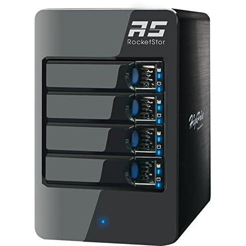 HighPoint ハイポイント ハードウェアRAID HDDケース Thunderbolt 2対応 RocketStor 6314A MAC