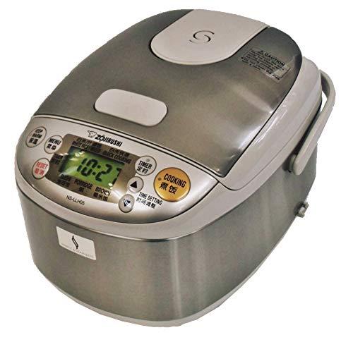 ZOJIRUSHI 海外向け0.54L 3合 炊き マイコン炊飯器 NS-LLH05-XA