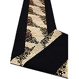 【包装済み】箱入り 和文様 和風テーブルランナー 帯風 日本製 海外向けギフト 150×30cm (雅)