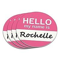 ロシェルこんにちは、私の名前はコースターセット