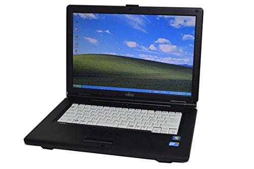 中古ノートパソコン 富士通 LIFEBOOK FMV A8295 15.4型ワイド液晶 CPU:Core2 Duo P8700 2.53GHz メモリ:2GB HDD:160GB DVD-ROMドライブ WiFi対応無線LAN搭載 Windows XP Professional (Windows7 コアシール付き)ServicePack3適用済み DtoDリカバリ領域有り