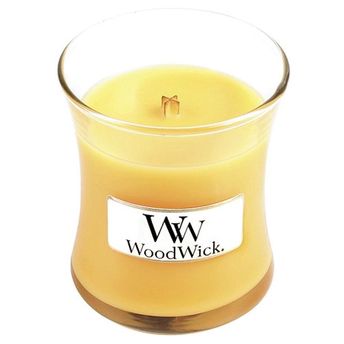 囲むパイプ艶SeasideミモザWoodWick Jar Candle – 3.4オンス