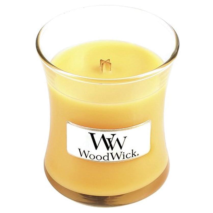 セールスマン話すかわすSeasideミモザWoodWick Jar Candle – 3.4オンス
