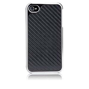 Case-Mate 日本正規品 iPhone 4S / 4 ベアリー・ゼア2 ケース ブラック・カーボンファイバー CM012350