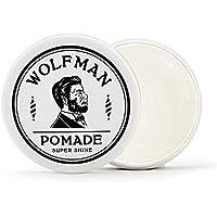 グラッドハンド ウルフマン ポマード 無香料 水性 メンズ 整髪料 120g GLADHAND WOLFMAN - POMADE SUPER SHINE