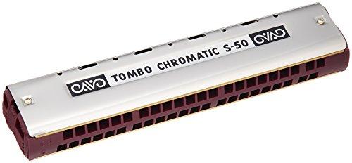 TOMBO トンボ クロマチックハーモニカ 44穴 シングル S-50