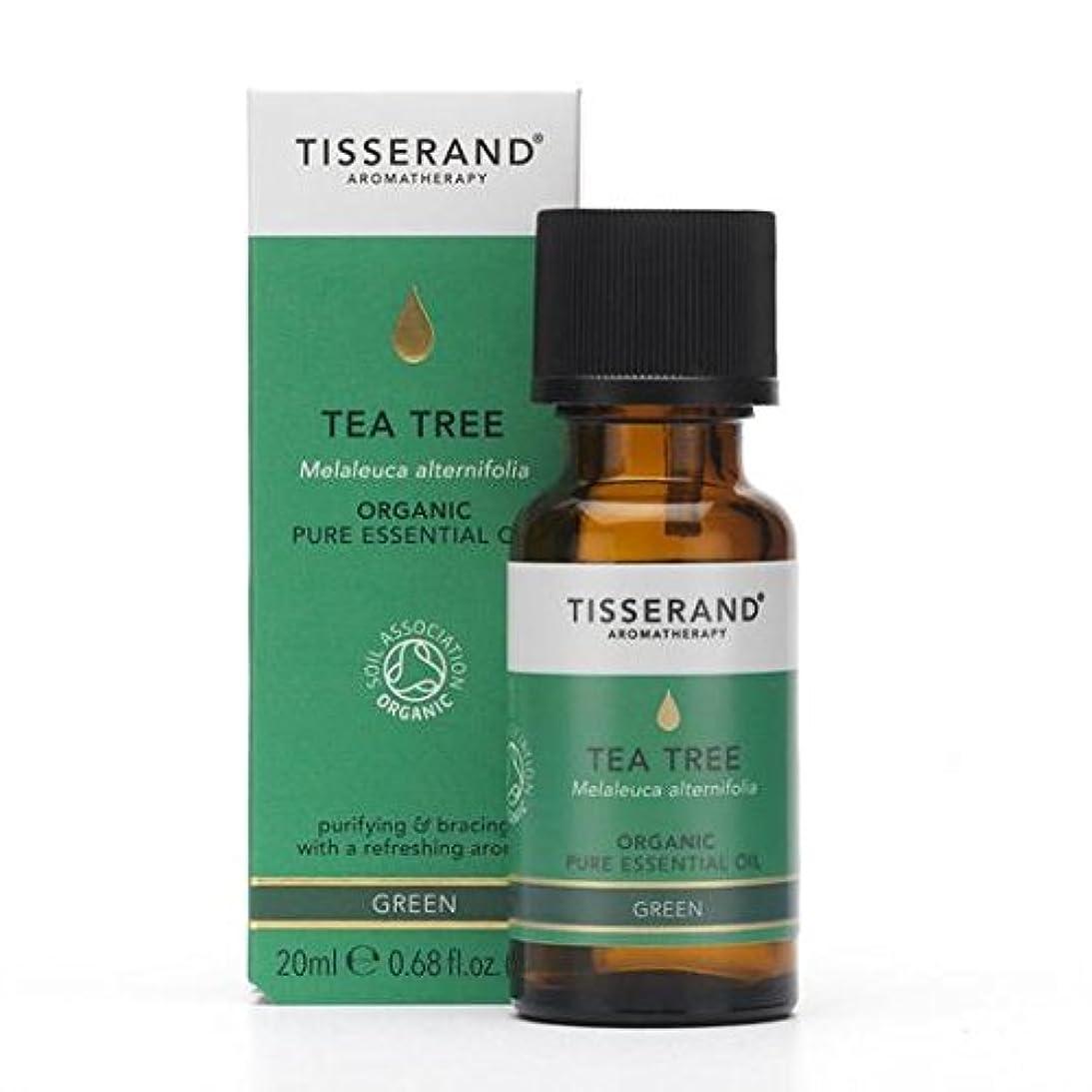 精神医学枯渇する復活Tisserand Tea-Tree Organic Essential Oil 20 ml by Tisserand