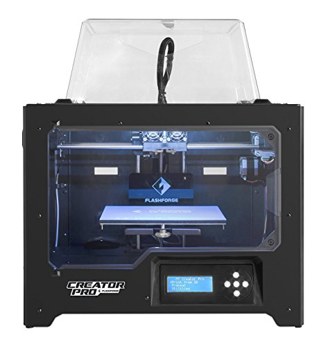 FLASHFORGE (フラッシュフォージ) 3Dプリンター Creator Pro クリエイター プロ デュアルヘッド 日本語マニュアル&フィラメント2リール付き