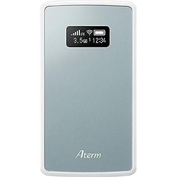 NECプラットフォームズ モバイルルーター Aterm ( 有機EL / 2GHz, 800MHz / メタリックブルー ) PA-MP01LN-SW