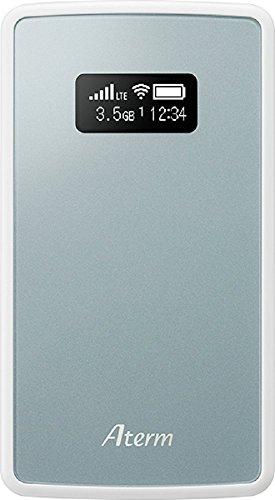 NECプラットフォームズ モバイルルーター Aterm ( nanoSIM×1 / 有機EL / 2GHz, 800MHz / メタリックブルー ) PA-MP01LN-SW