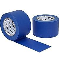 """2pk 3"""" x 60yd Stikkブルー画家テープ14日Cleanリリーストリムエッジ仕上げマスキングテープ( 2.82in 72mm"""