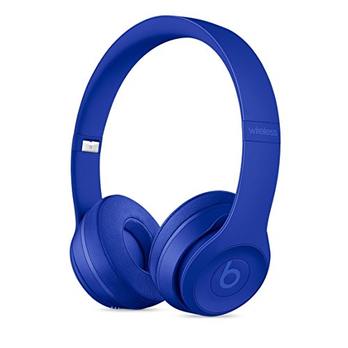 Beats Solo3 Wirelessオンイヤーヘッドフォン – ブレイクブルー