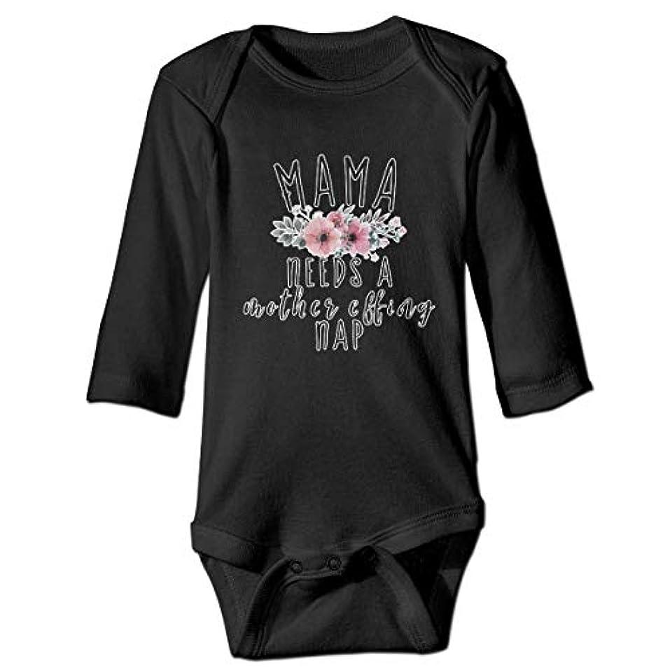 表面的なヒロインきらめくママは母の昼寝の赤ちゃんのボディースーツユーモアワンシー綿衣装コスチューム、12 Mが必要