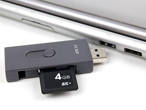 USB 3.1C CR SD / MSDカードリーダーfor Lenovoのヨガ520|ヨガ720( 13インチ) |ヨガ720( 15.6インチ) |ヨガ900( 13インチ) |ヨガ900s |ヨガ910|ヨガa12yb-q501F-gg–by DURAGADGET