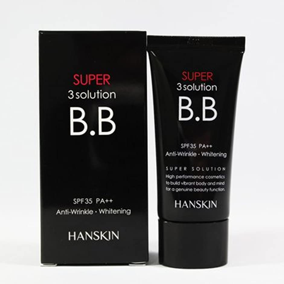 退屈な突っ込むドアミラーHANSKIN ハンスキン スーパー3ソリューションBBクリーム(30g)