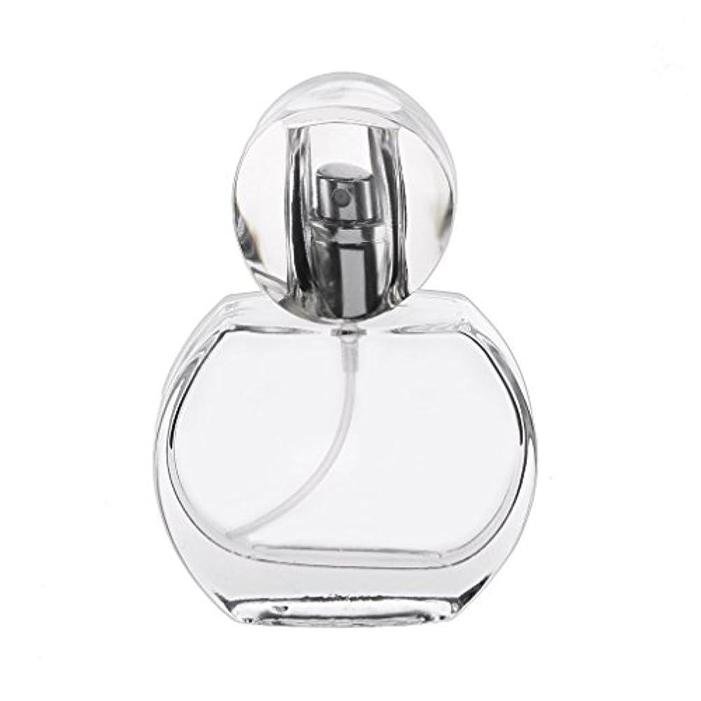 基礎パイ途方もないSGerste l クリスタル エンプティ 空 香水瓶 スプレーボトル アトマイザー 詰め替え 携帯便利 30m