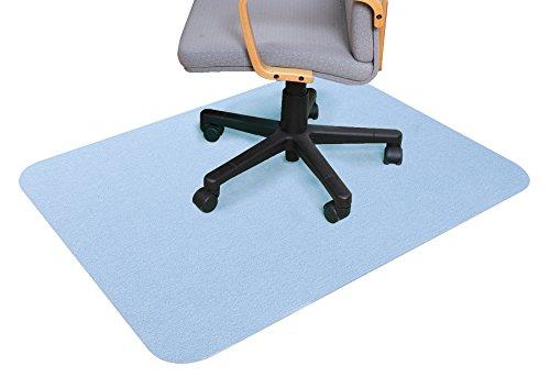 サンコー(三つ葉) 床保護マット BL(ブルー) 120×90cm(厚み0.4cm)