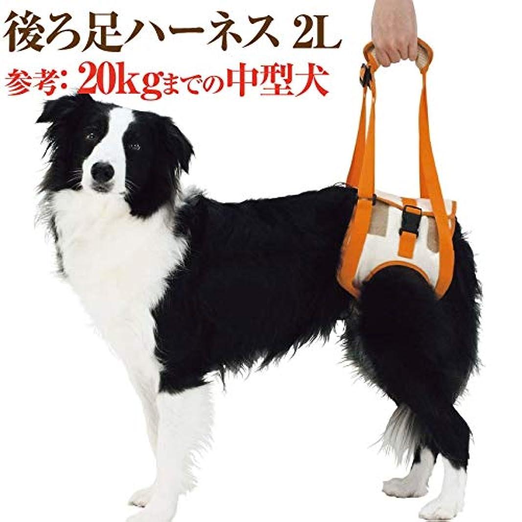 かんがい慈悲セラフ犬 歩行 介護用品(歩行補助 後ろ足 ハーネス 2L)高齢犬?シニア?老犬?犬用
