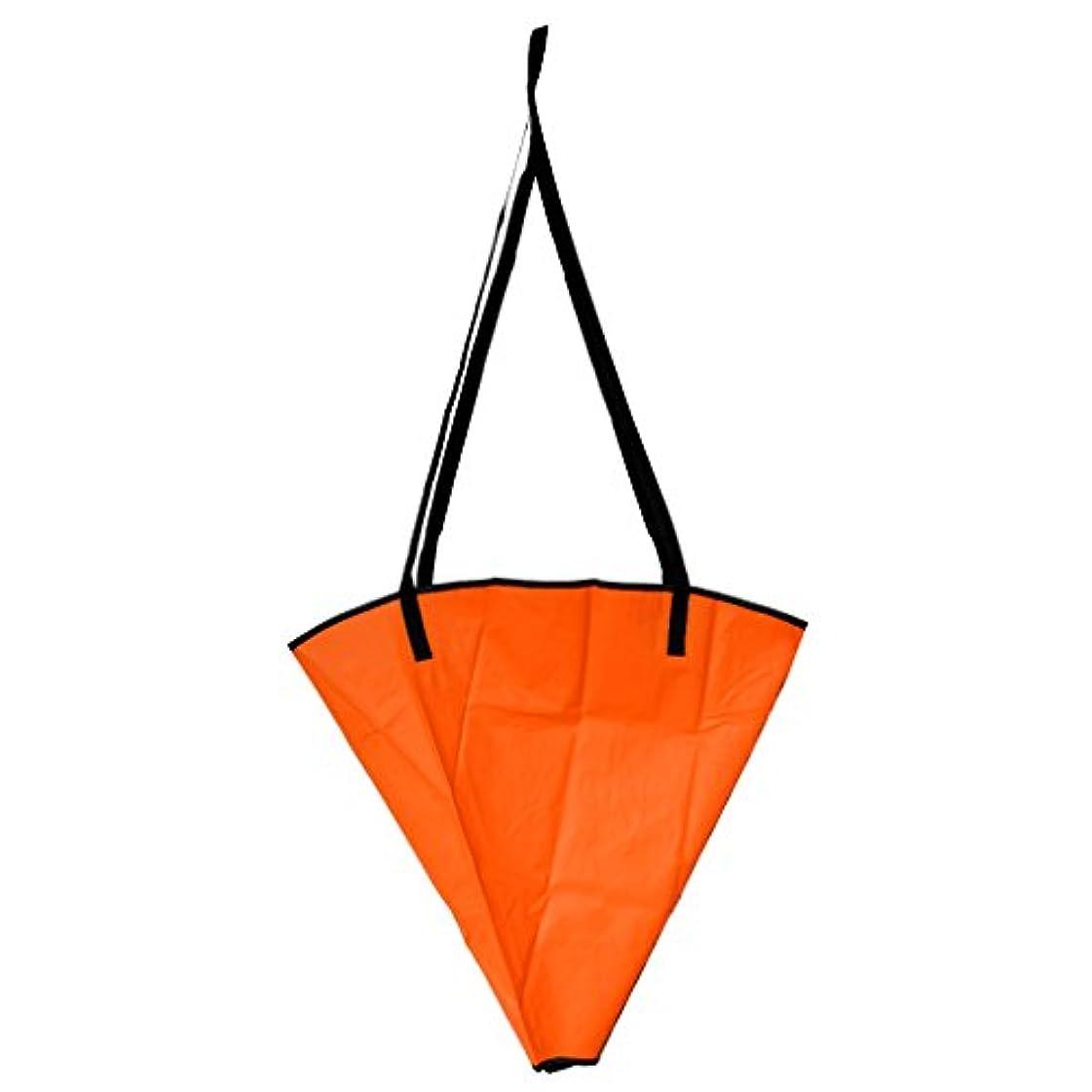 【ノーブランド品】 オレンジ シーアンカー 海錨 海アンカー ドローグ スーツ 漂流 帆ボート カヤック用 全2サイズ
