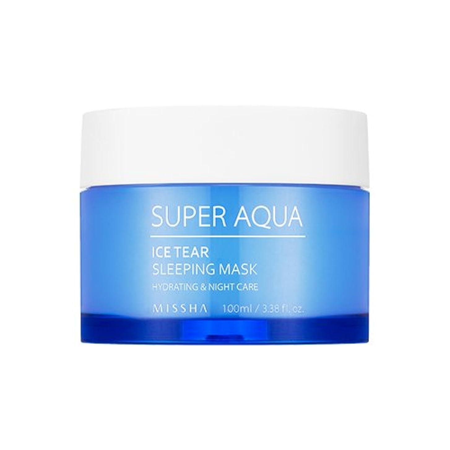 レンチ許可不正MISSHA Super Aqua Ice Tear Sleeping Mask 100ml / ミシャ スーパーアクア アイスティアスリーピングマスク [並行輸入品]