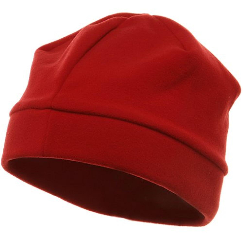 ポリエステルフリースbeanie-red