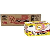 【ケース販売】 はるオンパックス 貼るカイロ 240個 入(60個入×4個) 【日本製/持続時間約14時間】