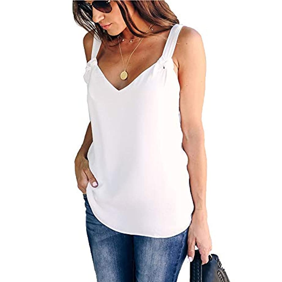 失敗家具ありふれたMIFANレディースブラウス、シフォンブラウス、ルーズTシャツ、タンクトップ、ノースリーブトップス、プラスサイズのシャツ、セクシーシャツ、トップス&ブラウス、ホルタートップ