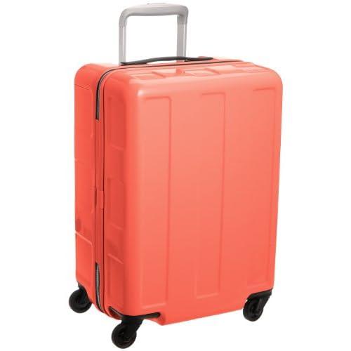 [プラスワン] PLUS ONE 超軽量! 《Booon》 2.5kg/40? 機内持ち込みMAXタイプ HINOMOTO社製グリスパックキャスター採用 119-49 ピーチオレンジ (ピーチオレンジ)