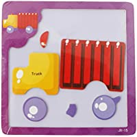 Chone赤ちゃん教育動物ジグソーパズル、Kids Cartoonトラフィックパズルfor 2 – 4 Years Old Toddlers , Good for脳開発、子供トレーニング想像力 S マルチカラー 5AC400307