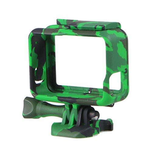 mekingstudioプレミアムABS迷彩フレームマウント保護ハウジングケースwithクイッククリップマウントfor GoPro Hero 5カメラ