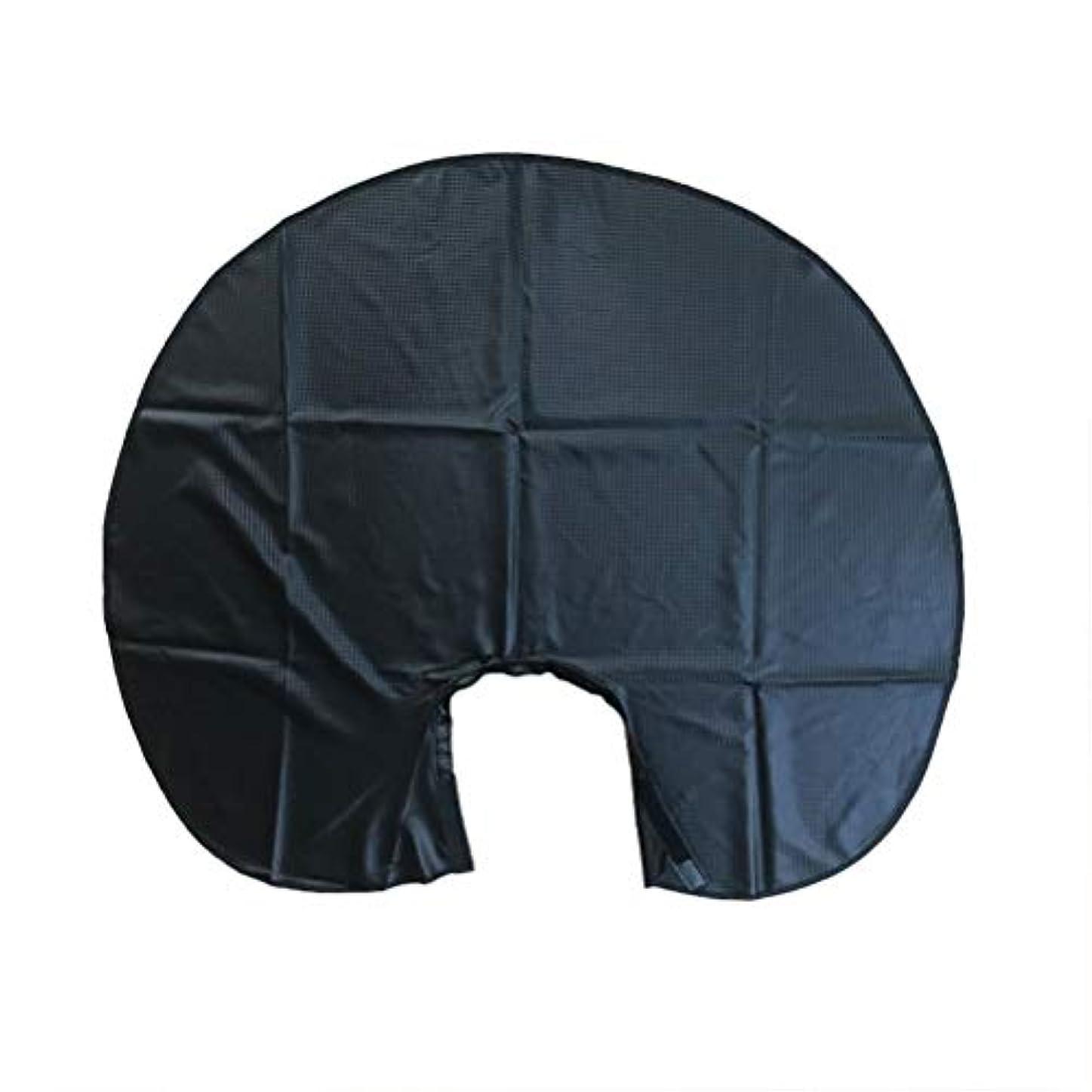 グリース強調するリラックスBeaupretty 1ピースヘアサロン切断エプロン防水ショートヘアケープケープ理髪店のドレス用理髪スタイリング