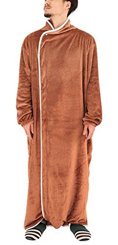 BIBILAB (ビビラボ) はだけない着る毛布 ベージュ Lサイズ 2018モデル HFM-L-B...