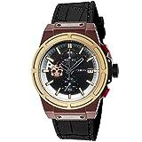 [HYDROGEN] 腕時計 OTTO CHRONO SKULL HW514410 メンズ ブラック