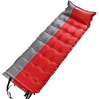 エアーマット キャンプ 自動膨張式 5cm エアピローも付き式 エアーベッド キャンプ 車中泊 防災 マット コンパクト 超軽量 防水 複数連結 収納袋付き
