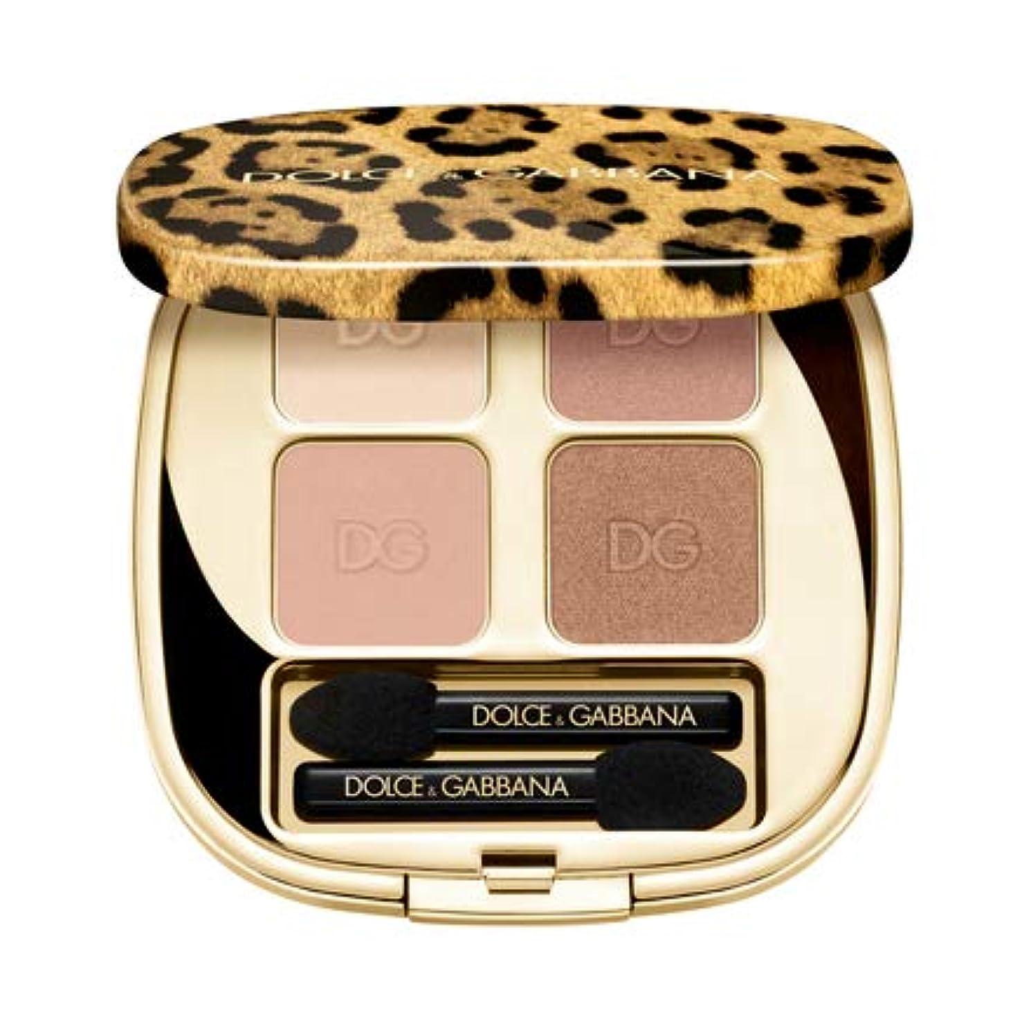 背の高いパックファン【Dolce & Gabbana(ドルチェ&ガッバーナ)】フェリンアイズ インテンスアイシャドウ クアッド (5)