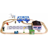 Thomas and Friends Wooden Railway - Jeremy At The Airfield Set by Learning Curve [並行輸入品]