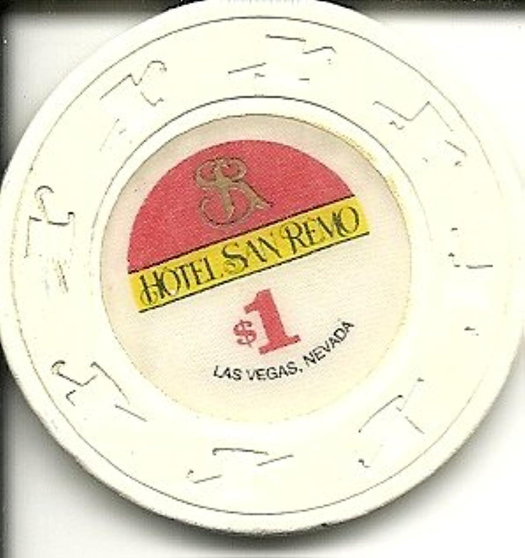 $ 1 Hotel San Remoラスベガスカジノチップ