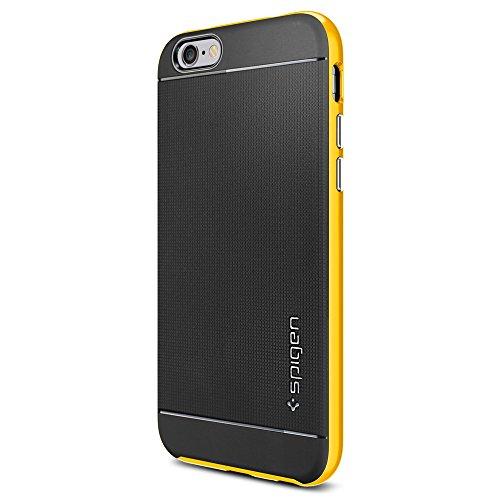 iPhone 6 ケース, Spigen®  二重構造 スリム フィット  Apple iPhone 4.7 (2014) ネオ・ハイブリッド The New iPhone アイフォン6 (国内正規品) (レベントン・イエロー 【SGP11034】)