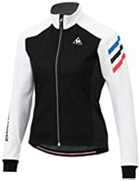 ◎18FW ルコック(le coq sportif) テクノブレンボンディングジャケット Technobrane Bondg Jacket レディース QCWMGC63-WHT
