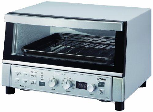 タイガー コンベクションオーブン&トースター 「やきたて」 シルバー KAS-V130-SN