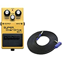 BOSS SUPER OverDrive SD-1 + 3m ギターケーブル VOX VGS-30 セット