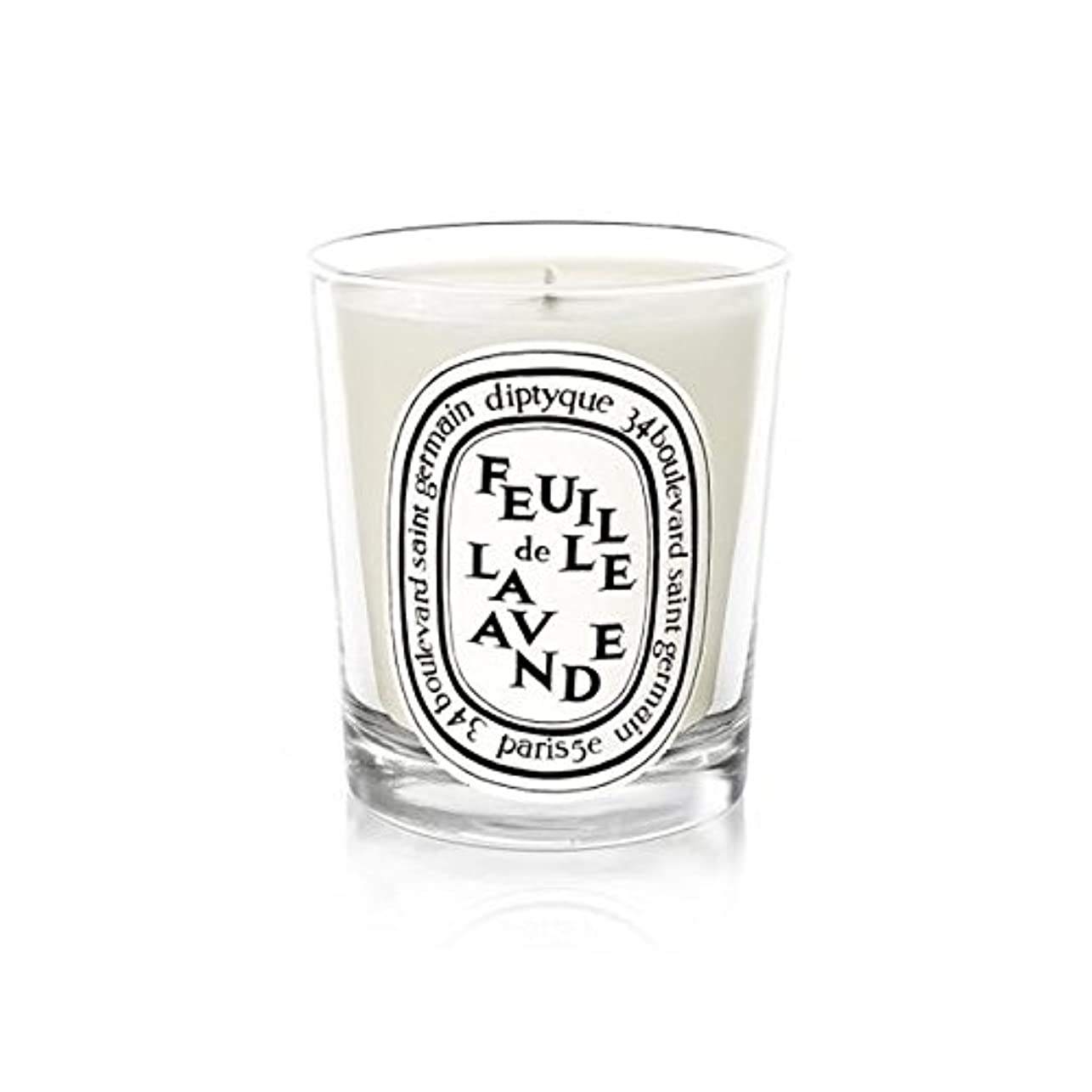 Diptyque Candle Feuille De Lavande / Lavender Leaf 190g (Pack of 6) - DiptyqueのキャンドルFeuilleデラバンデ/ラベンダーの葉190グラム...