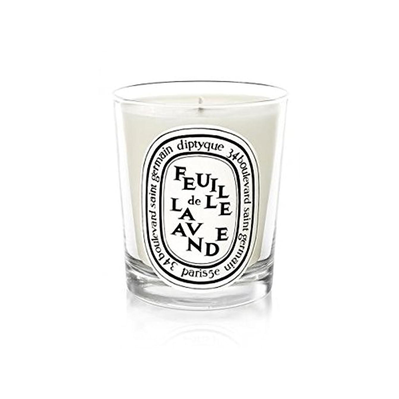 自然公園腐食する原始的なDiptyqueキャンドルFeuilleデラバンデ/ラベンダーの葉70グラム - Diptyque Candle Feuille De Lavande / Lavender Leaf 70g (Diptyque) [並行輸入品]