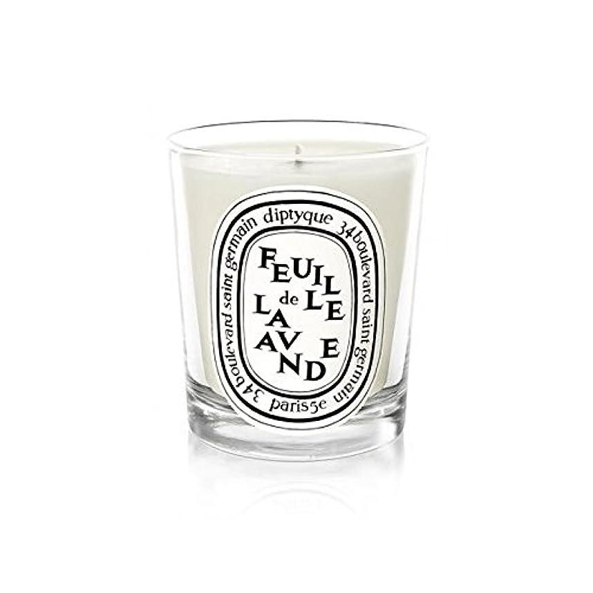 バイオリニストキャッチ吹雪Diptyque Candle Feuille De Lavande / Lavender Leaf 190g (Pack of 6) - DiptyqueのキャンドルFeuilleデラバンデ/ラベンダーの葉190グラム...