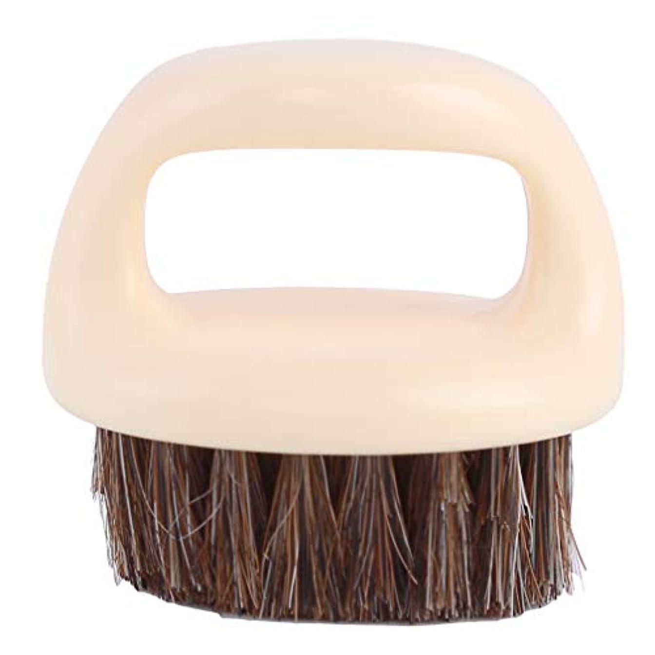 市場サーカスモードリンBEE&BLUE シェービング用ブラシ メンズ ひげブラシ 豚剛毛 ラウンド櫛 男性 理容 洗顔 髭剃り 泡立ち 洗顔ブラシ クリーニング シェービングツール