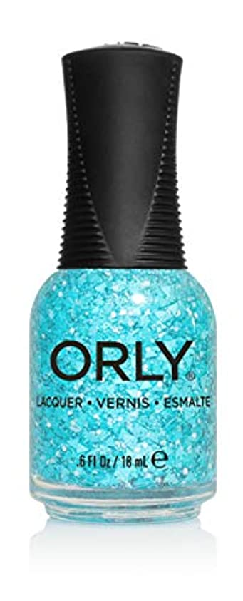非武装化エスカレートゴルフOrly Nail Lacquer - Euphoria 2019 Collection - What's the Big Teal - 0.6 oz / 18 mL
